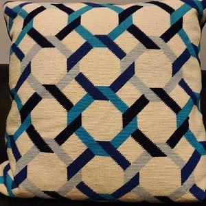 Jonathan Adler needlepoint pillows